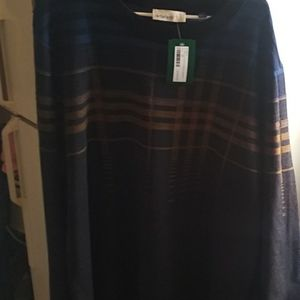 Artefact Ari Merino Grid Crewneck Sweater